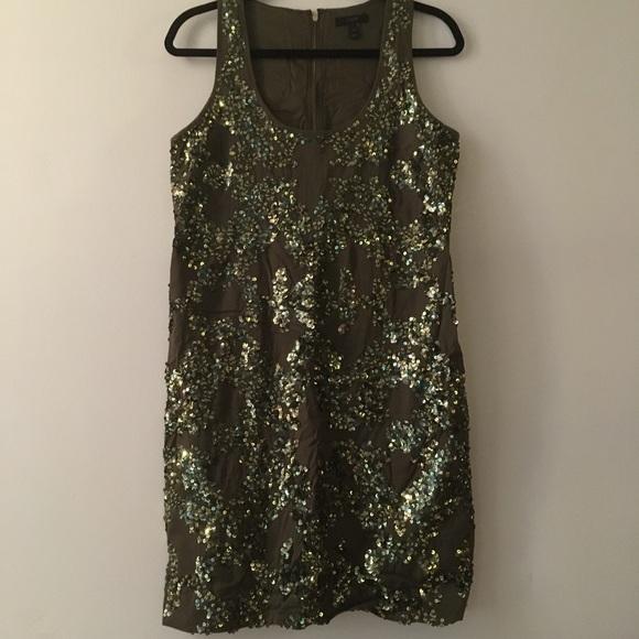 a1284a0f J. Crew Dresses & Skirts - J.Crew Iridescent sequin shift dress, misty